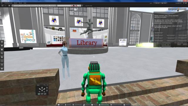 Figure 3: Rockcliffe University Library Assistant