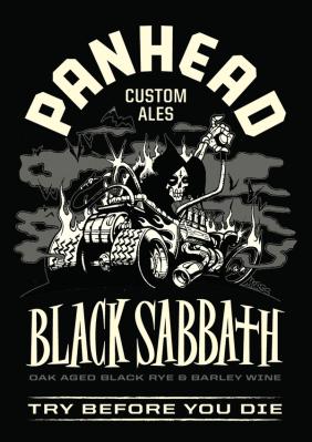 Panhead Black Sabbath